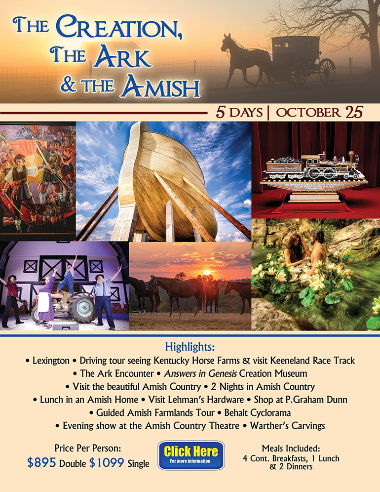 The Creation The Ark & The Amish