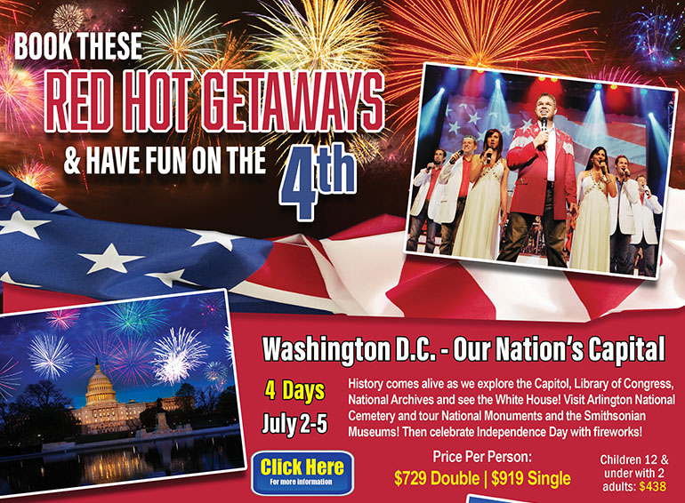 Red Hot Deals - 4th of July